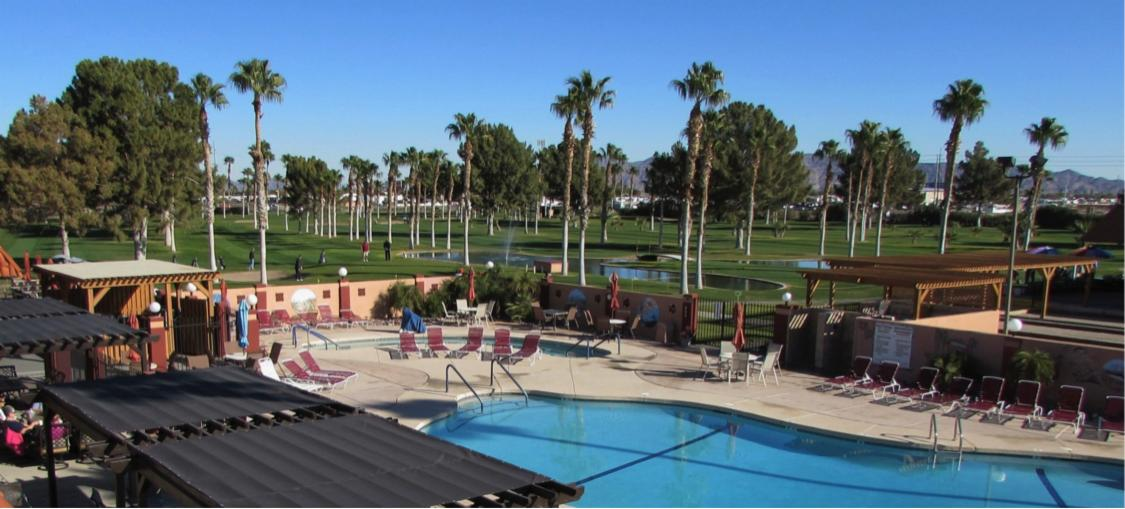 Westwind RV & Golf Resort Pool
