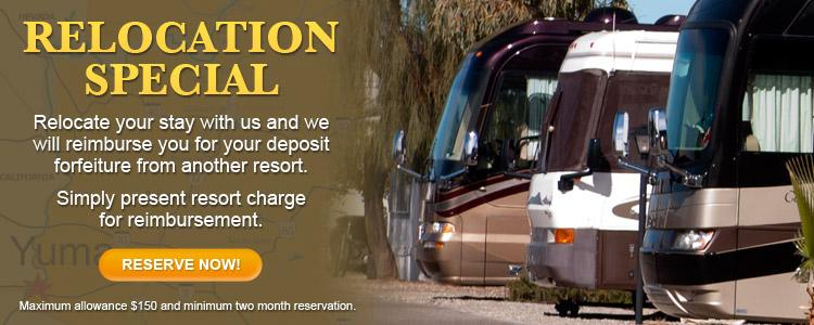 Relocation Special